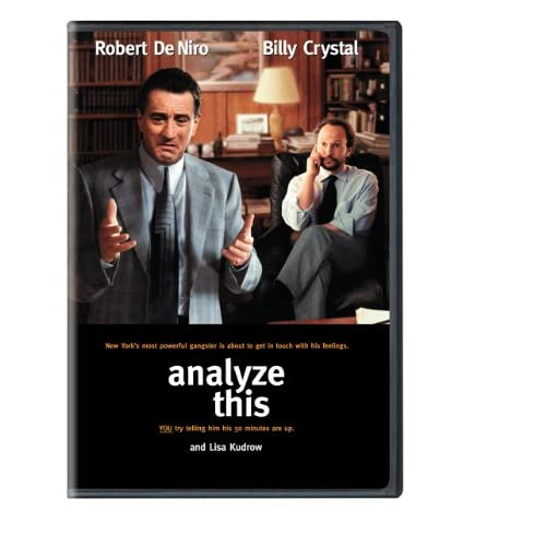 Image 0 of Analyze This On DVD With Robert De Niro Comedy