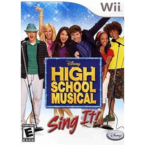 High School Musical Sing It Game Only For Wii And Wii U