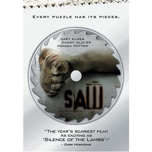 Image 0 of Saw Full Screen Edition On DVD with Cary Elwes Horror