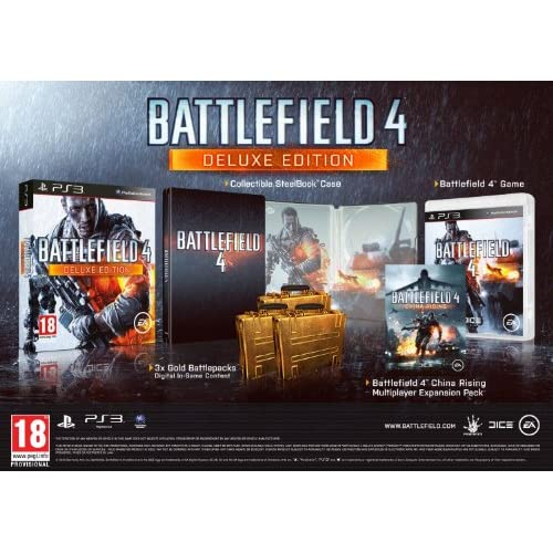 Image 0 of Battlefield 4 Deluxe Edition PS3 For PlayStation 3