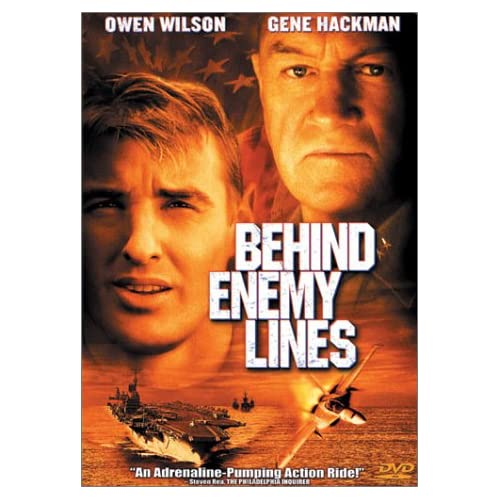 Image 0 of Behind Enemy Lines On DVD With Owen Wilson