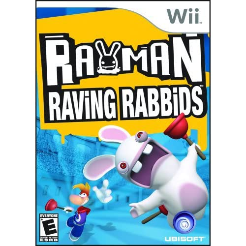 Rayman Raving Rabbids For Wii And Wii U