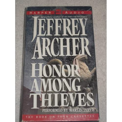 Image 0 of Honour Among Thieves By Jeffrey Archer On Audio Cassette