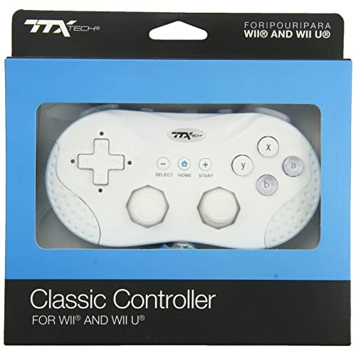 Image 0 of TTX Tech /Wii U Classic Controller For Wii White Gamepad DPF655
