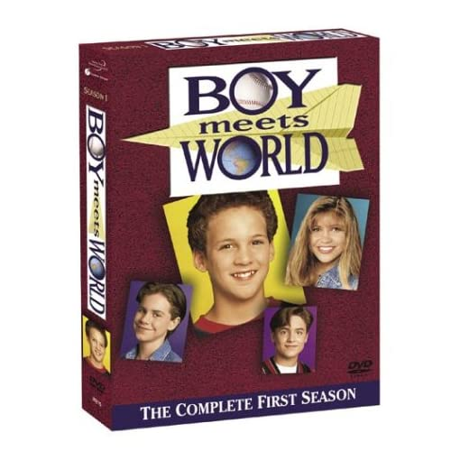 Image 0 of Boy Meets World The Complete First Season On DVD With Ben Savage Disney