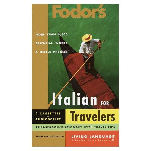 Image 0 of Fodor's Italian For Travelers Audio Set Fodor's Living Language By Fodor's On Au