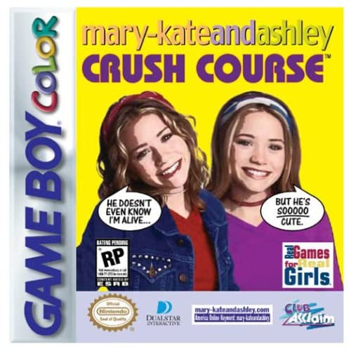 Mary-Kate And Ashley Crush Course On Gameboy Color