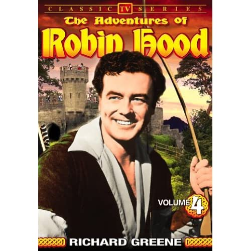 Image 0 of Adventures Of Robin Hood Volume 4 On DVD with Richard Greene