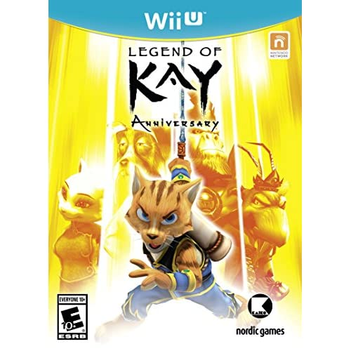 Image 0 of Legend Of Kay Anniversary For Wii U RPG