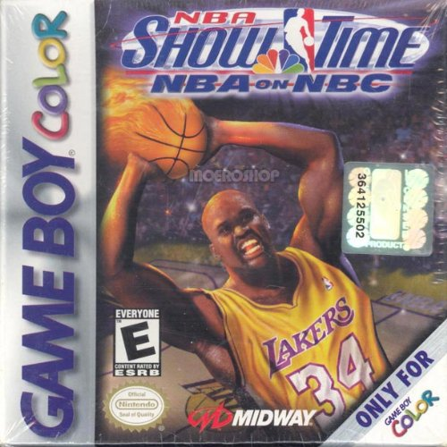 Image 0 of NBA Showtime Game Boy Color On Gameboy Color Basketball