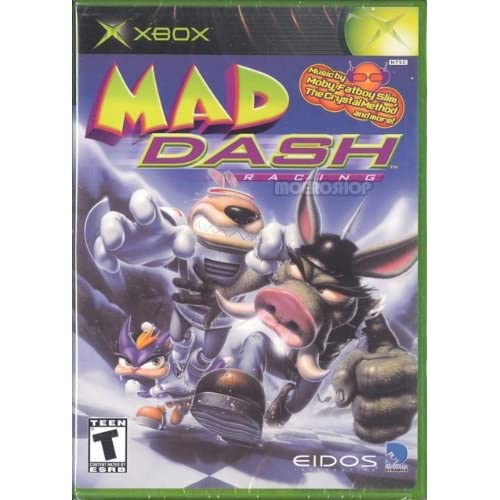 Old Xbox Games Racing Games : Mad dash racing for xbox original with manual and case