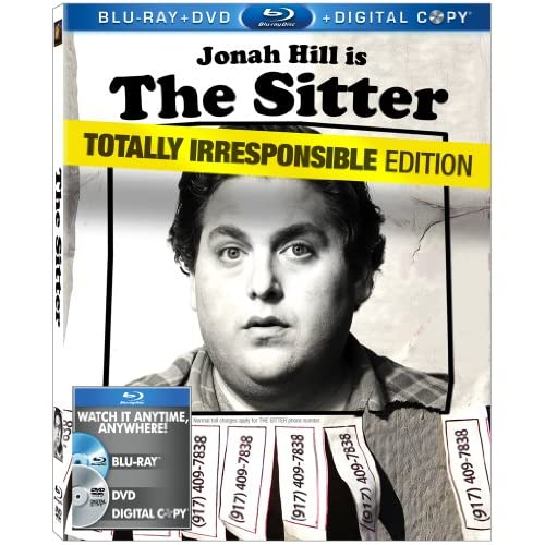 Image 0 of The Sitter Two-Disc Blu-Ray/dvd Combo On Blu-Ray With Sam Rockwell 2 Comedy