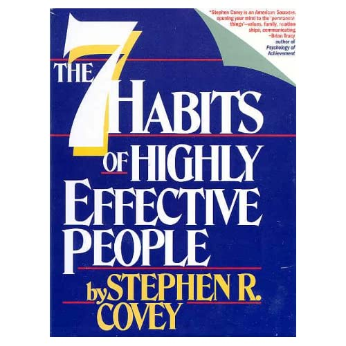 Seven Habits Of Highly Effective People/cassettes By Steven R Covey On