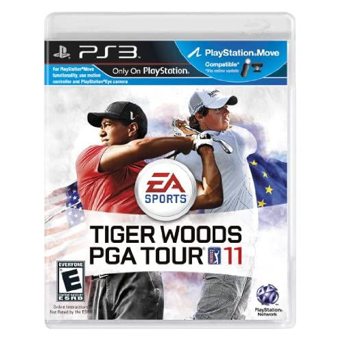Tiger Woods PGA Tour 11 For PlayStation 3 PS3 Golf