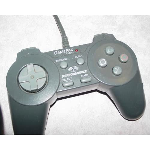 Image 0 of Gamepad Controller For PlayStation By Performance P-107E For PlayStation 1