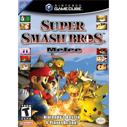 Super Smash Bros Melee For GameCube Action