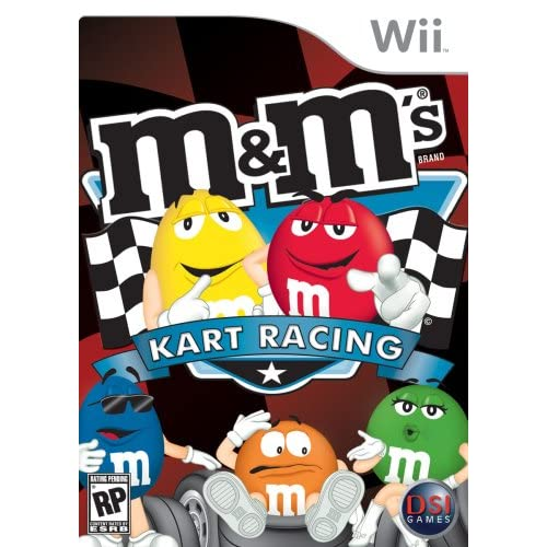 Image 0 of M&ms Kart Racing For Wii And Wii U Flight