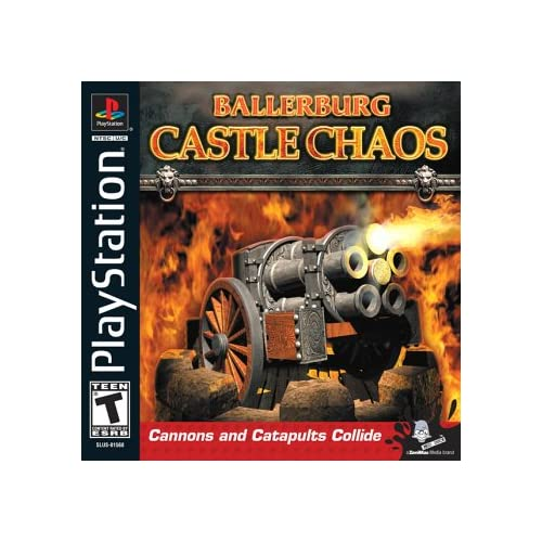 Ballerburg: Castle Chaos For PlayStation 1 PS1 Football