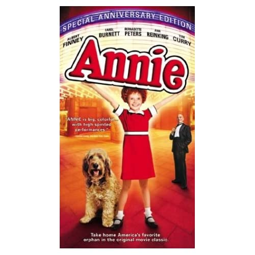 Anniespecial Anniversary Edition On VHS With Aileen Quinn