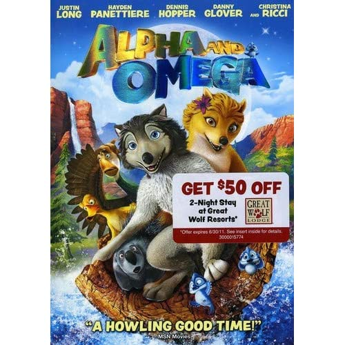 Image 0 of Alpha And Omega DVD On DVD With Hayden Panettiere Anime