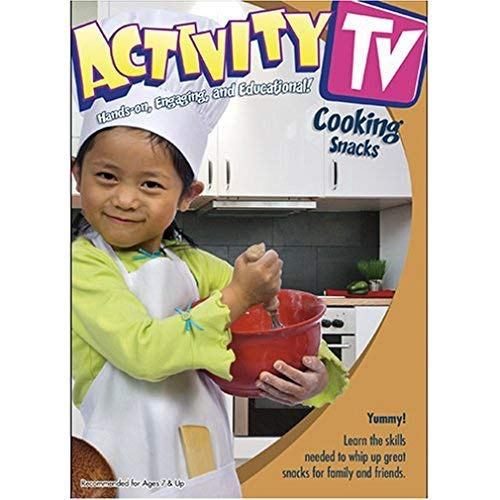 Image 0 of Activitytv Cooking Fun Snacks V.1 On DVD With Educational Activities