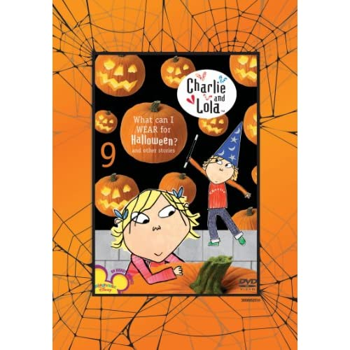 Image 0 of Charlie And Lola: Volume 9: What Can I Wear For Halloween? On DVD with Daniel Ma