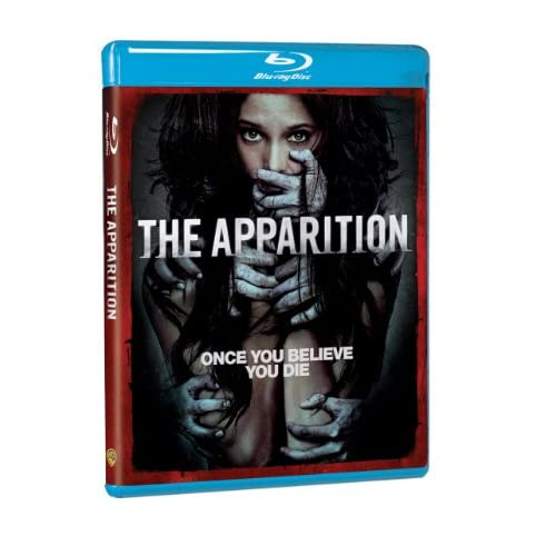 The Apparition Blu-Ray DVD Combo Pack On Blu-Ray With Ashley Greene