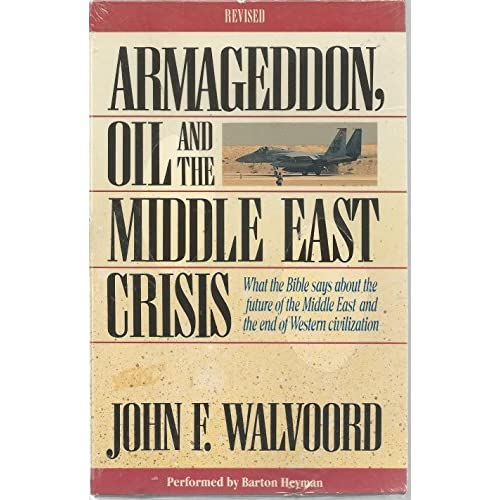 Image 0 of Armageddon Oil And The Middle East Crisis By John F Walvoord On Audio Cassette