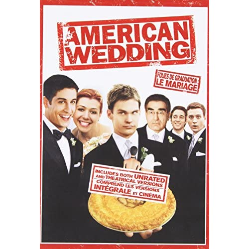 American Wedding Unrated/theatrical Versions On DVD With Jason Biggs