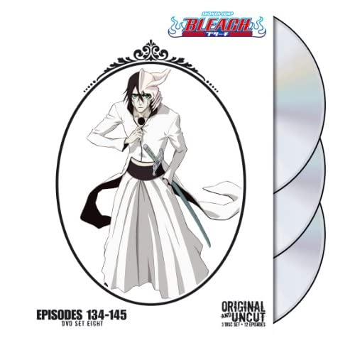 Image 0 of Bleach Uncut Box Set 8 On DVD Anime