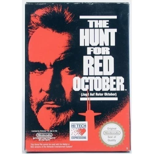 Image 0 of The Hunt For Red October For Nintendo NES Vintage
