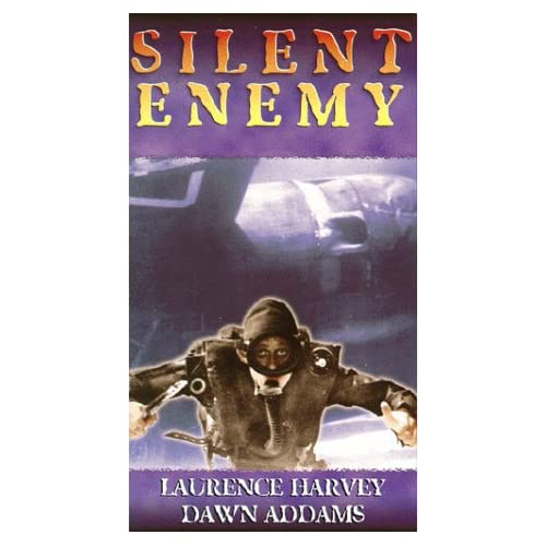 Image 0 of Silent Enemy On VHS With Laurence Harvey