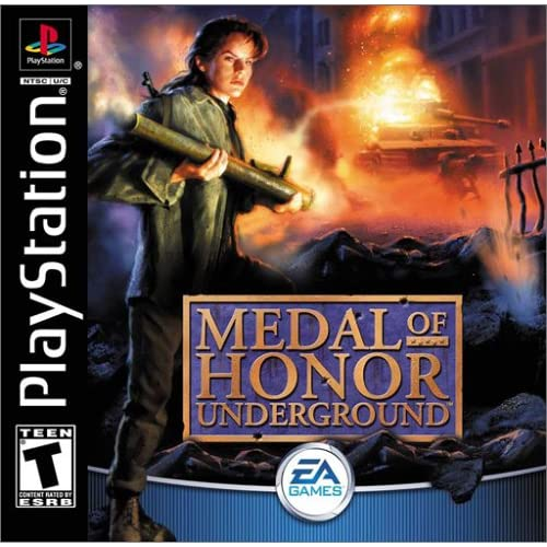 Image 0 of Medal Of Honor Underground For PlayStation 1 PS1 Shooter