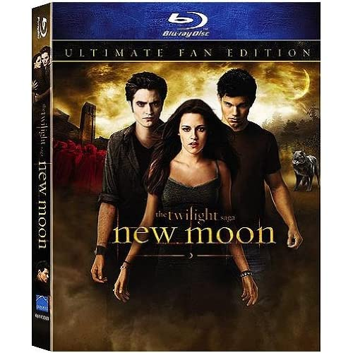 Image 0 of The Twilight Saga: New Moon Ultimate Fan Edition Blu-Ray With Lenticular Packagi