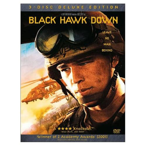Image 0 of Black Hawk Down 3-disc Deluxe Edition On DVD With Josh Hartnett