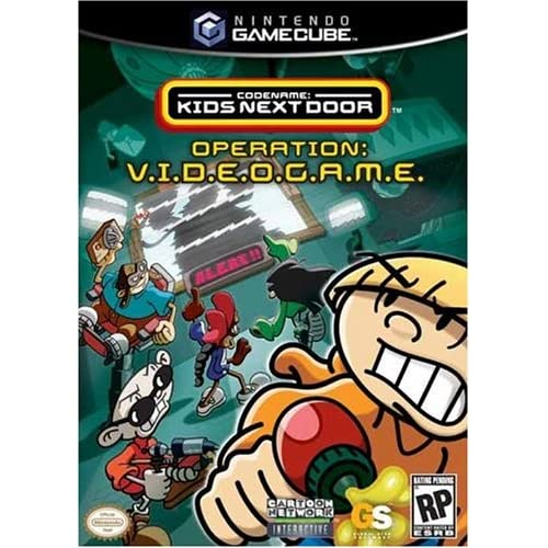 Codename: Kids Next Door For GameCube With Manual and Case