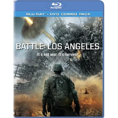 Image 0 of Battle: Los Angeles Two-Disc Blu-Ray/dvd Combo On Blu-Ray With Aaron Eckhart 2