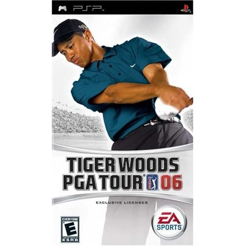 Image 0 of Tiger Woods PGA Tour 2006 Sony For PSP UMD Golf