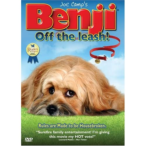 Image 0 of Benji Off The Leash On DVD With Nick Whitaker