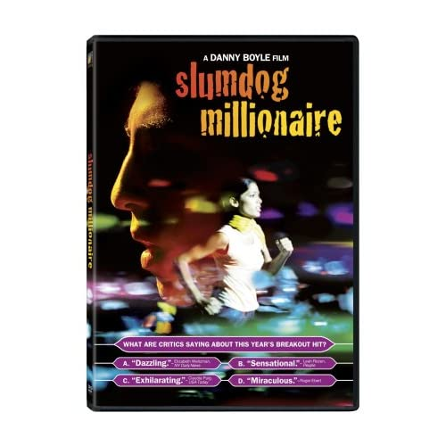 Image 0 of Slumdog Millionaire On DVD With Dev Patel Drama
