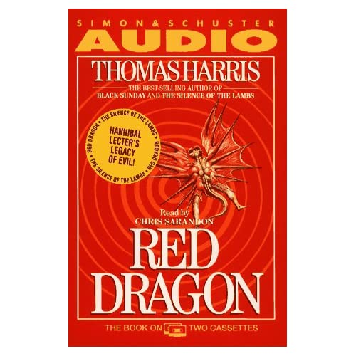 Image 0 of Red Dragon By Thomas Harris On Audio Cassette