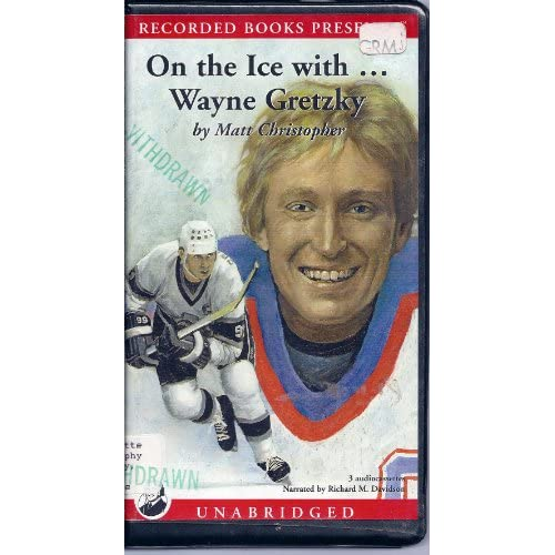 Image 0 of On The Ice With Wayne Gretzky By Matt Christopher On Audio Cassette