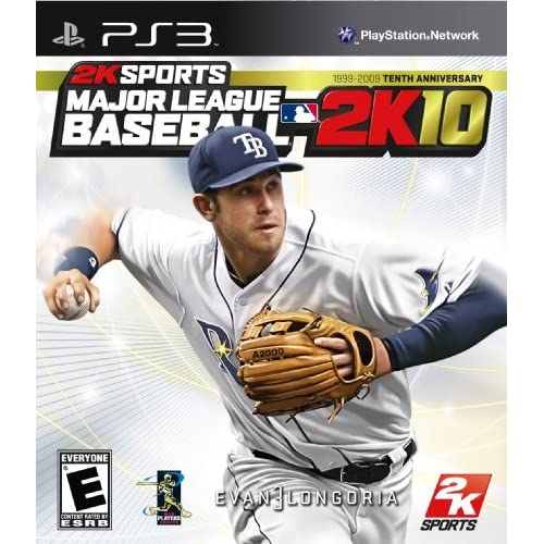 Major League Baseball 2K10 For PlayStation 3 PS3