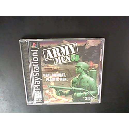 Army Men 3D For PlayStation 1 PS1