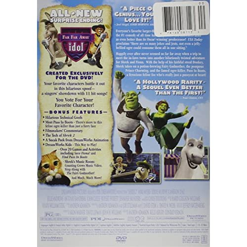 Image 3 of Shrek 2 Widescreen Edition On DVD With Mike Myers Anime