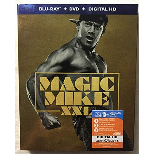 Image 0 of Magic Mike XXL Blu-Ray On Blu-Ray With Channing Tatum Comedy