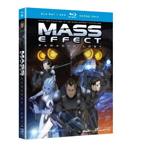 Image 0 of Mass Effect: Paragon Lost Blu-Ray/dvd Combo On Blu-Ray With Freddie Prinze Jr