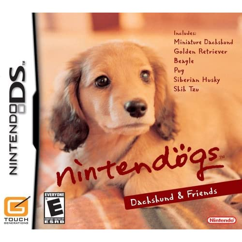 Image 0 of Nintendogs Dachshund And Friends For Nintendo DS DSi 3DS 2DS