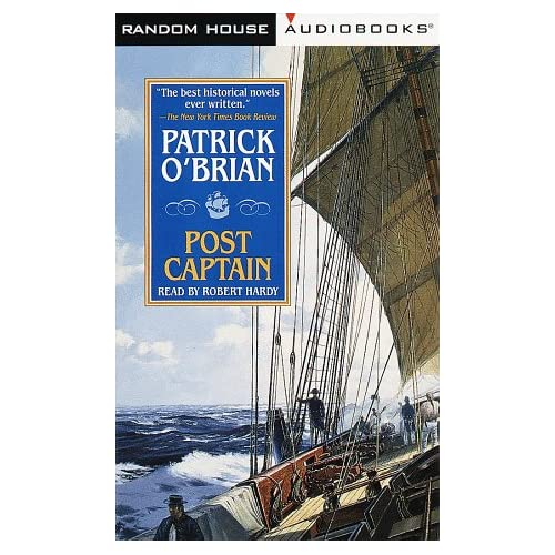 Image 0 of Post Captain Aubrey-Maturin By Patrick O'brian And Robert Hardy Reader On Audio