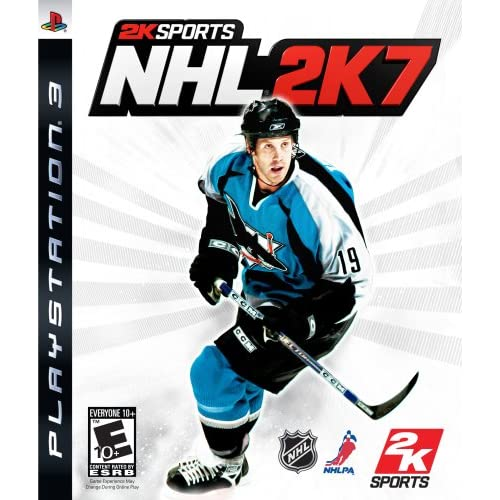 NHL 2K7 For PlayStation 3 PS3 Hockey With Manual And Case